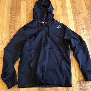 Men's Reebok zip up hoodie